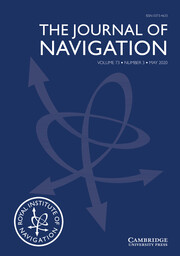 The Journal of Navigation Volume 73 - Issue 3 -