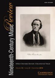 Nineteenth-Century Music Review Volume 13 - Issue 2 -