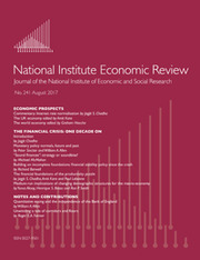 National Institute Economic Review  Volume 241 - Issue  -