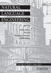 Natural Language Engineering Volume 20 - Issue 2 -