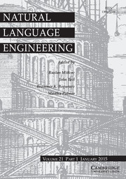 Natural Language Engineering Volume 21 - Issue 1 -