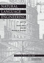 Natural Language Engineering Volume 25 - Issue 3 -