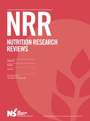 Nutrition Research Reviews Volume 26 - Issue 1 -