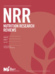 Nutrition Research Reviews Volume 29 - Issue 1 -