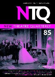 New Theatre Quarterly Volume 22 - Issue 1 -