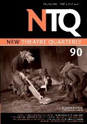 New Theatre Quarterly Volume 23 - Issue 2 -