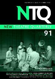 New Theatre Quarterly Volume 23 - Issue 3 -