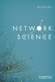 Network Science Volume 1 - Issue 2 -