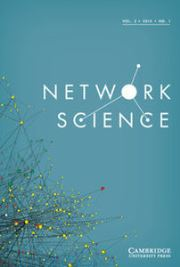 Network Science Volume 3 - Issue 1 -  Networks in Space and in Time: Methods and Applications