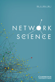 Network Science Volume 4 - Issue 1 -