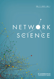 Network Science Volume 7 - Issue 1 -