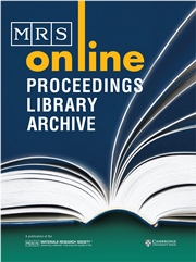 MRS Online Proceedings Library (OPL)