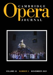 Cambridge Opera Journal