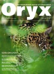 Oryx Volume 38 - Issue 2 -