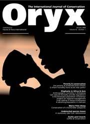 Oryx Volume 42 - Issue 1 -