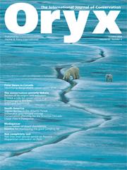 Oryx Volume 42 - Issue 4 -