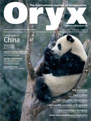 Oryx Volume 43 - Issue 2 -