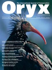 Oryx Volume 43 - Issue 3 -