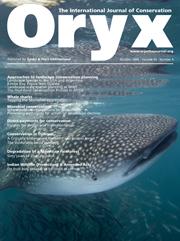 Oryx Volume 43 - Issue 4 -