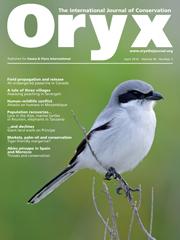 Oryx Volume 44 - Issue 2 -