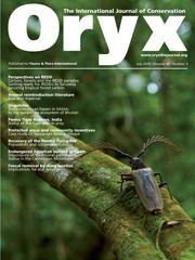 Oryx Volume 44 - Issue 3 -