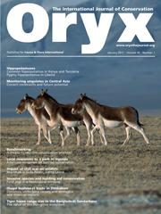 Oryx Volume 45 - Issue 1 -