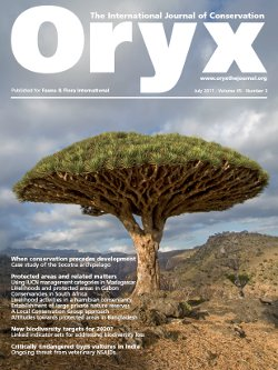 Oryx Volume 45 - Issue 3 -
