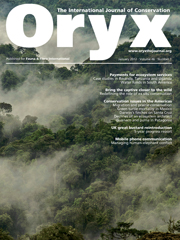 Oryx Volume 46 - Issue 1 -