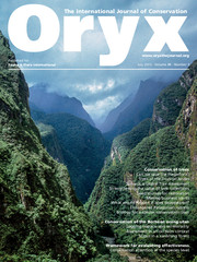 Oryx Volume 49 - Issue 3 -