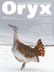 Oryx Volume 50 - Issue 4 -
