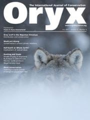 Oryx Volume 51 - Issue 3 -
