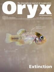 Oryx Volume 54 - Issue 2 -