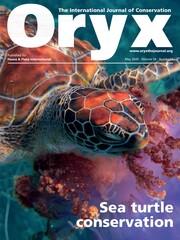 Oryx Volume 54 - Issue 3 -