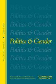 Politics & Gender Volume 13 - Issue 1 -
