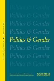 Politics & Gender Volume 9 - Issue 4 -