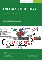 Parasitology Volume 135 - Issue 8 -