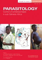 Parasitology Volume 136 - Issue 13 -  Control of schistosomiasis in sub-Saharan Africa