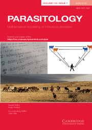 Parasitology Volume 143 - Special Issue7 -  Mathematical modelling of infectious diseases