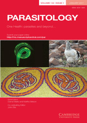 Parasitology Volume 144 - Special Issue1 -  One Health: parasites and beyond...