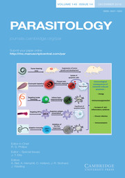 Parasitology Volume 145 - Issue 14 -
