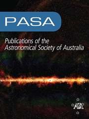 Publications of the Astronomical Society of Australia