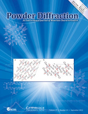 Powder Diffraction Volume 27 - Issue 3 -
