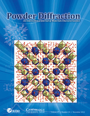Powder Diffraction Volume 27 - Issue 4 -