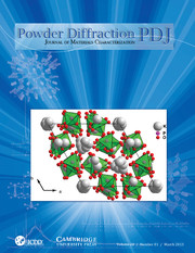 Powder Diffraction Volume 28 - Issue 1 -