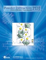 Powder Diffraction Volume 28 - Issue 4 -