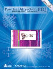 Powder Diffraction Volume 29 - Issue 2 -