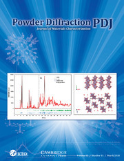 Powder Diffraction Volume 33 - Issue 1 -