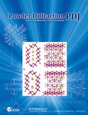 Powder Diffraction Volume 34 - Issue 1 -
