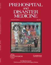 Prehospital and Disaster Medicine Volume 26 - Issue 3 -