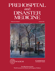 Prehospital and Disaster Medicine Volume 26 - Issue 5 -